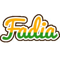 Fadia banana logo