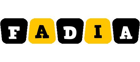 Fadia boots logo