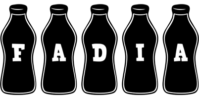 Fadia bottle logo