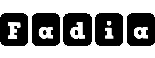 Fadia box logo
