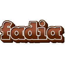 Fadia brownie logo