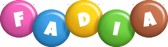 Fadia candy logo