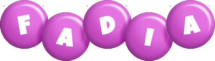 Fadia candy-purple logo