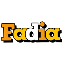 Fadia cartoon logo