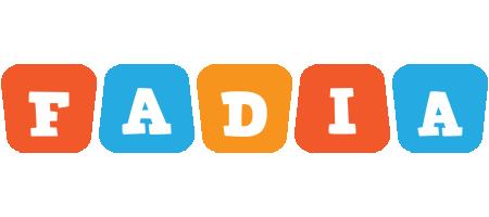 Fadia comics logo