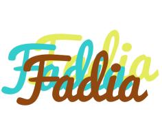 Fadia cupcake logo