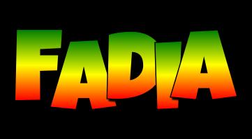 Fadia mango logo
