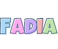 Fadia pastel logo