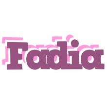 Fadia relaxing logo