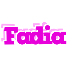 Fadia rumba logo