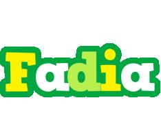 Fadia soccer logo