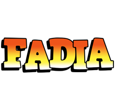 Fadia sunset logo