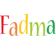Fadma birthday logo