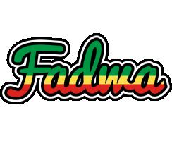 Fadwa african logo