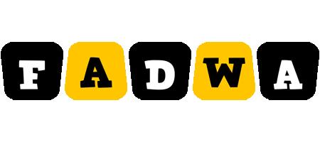 Fadwa boots logo