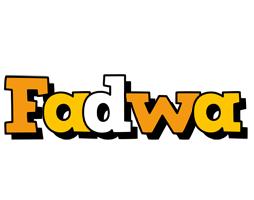 Fadwa cartoon logo