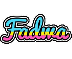 Fadwa circus logo