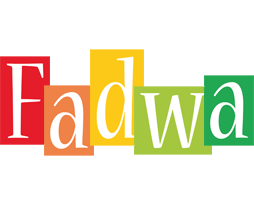 Fadwa colors logo