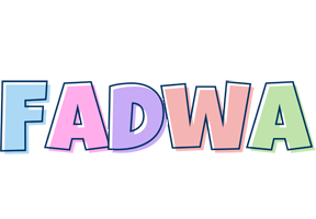 Fadwa pastel logo