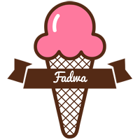 Fadwa premium logo