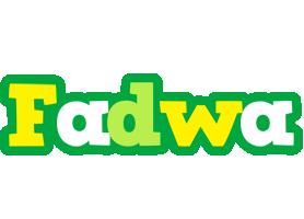 Fadwa soccer logo