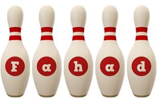Fahad bowling-pin logo