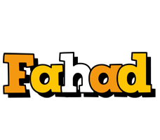 Fahad cartoon logo
