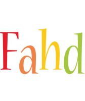 Fahd birthday logo