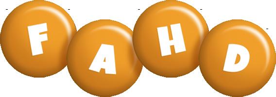 Fahd candy-orange logo