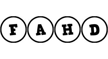 Fahd handy logo