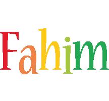 Fahim birthday logo