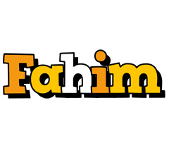 Fahim cartoon logo