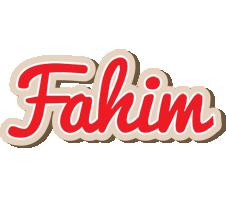 Fahim chocolate logo