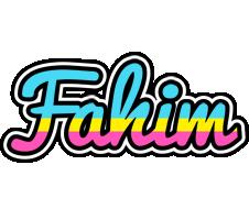 Fahim circus logo