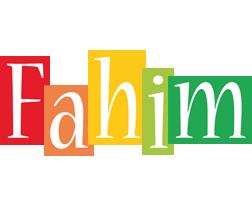 Fahim colors logo