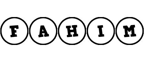 Fahim handy logo