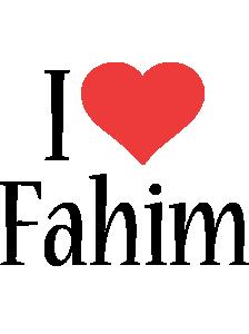 Fahim i-love logo