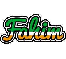 Fahim ireland logo