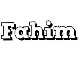 Fahim snowing logo