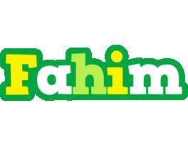 Fahim soccer logo