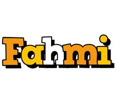 Fahmi cartoon logo
