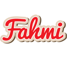 Fahmi chocolate logo