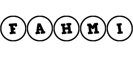 Fahmi handy logo