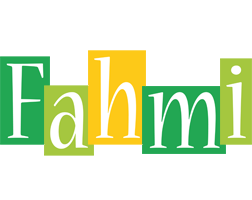 Fahmi lemonade logo