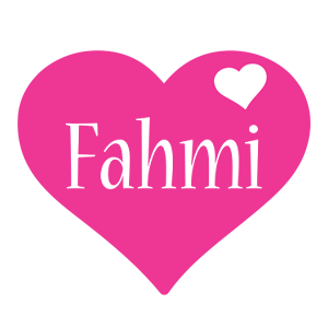 Fahmi love-heart logo