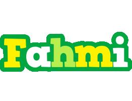 Fahmi soccer logo