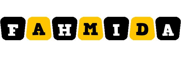 Fahmida boots logo