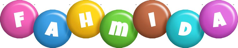 Fahmida candy logo