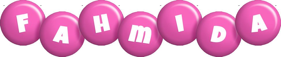 Fahmida candy-pink logo