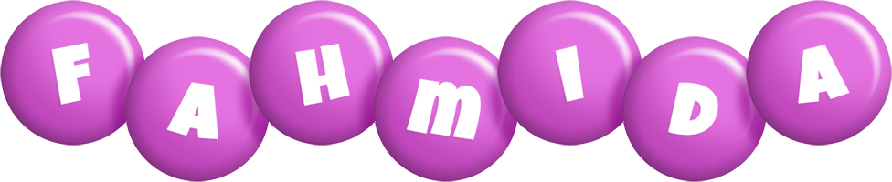 Fahmida candy-purple logo